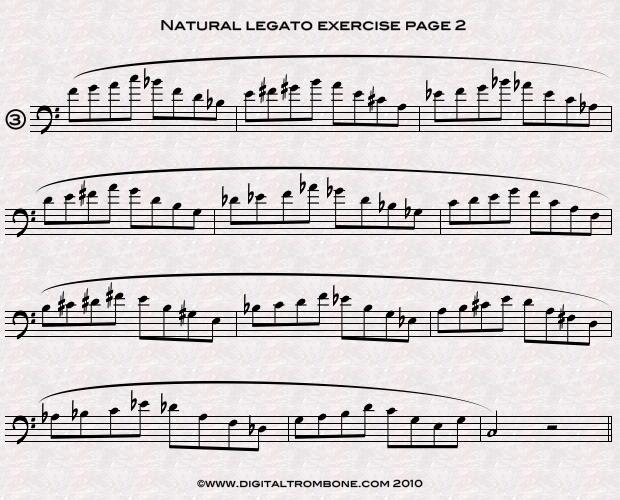 Trombone lesson: Natural legato – take a big breath