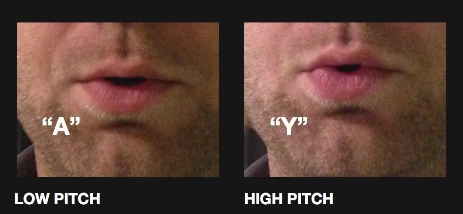 correct trombone lip positions