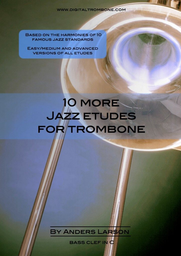 10 More Jazz Etudes For Trombone