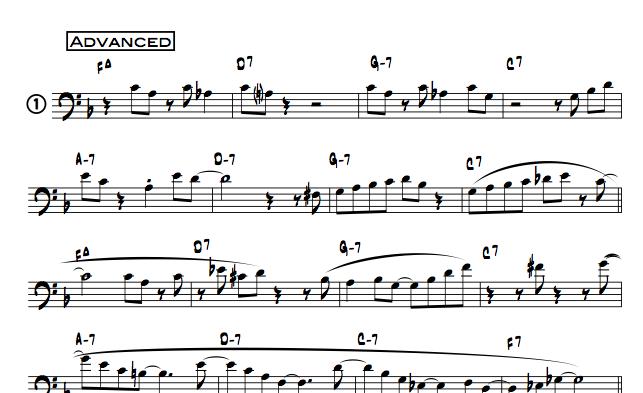 10 More Jazz Etudes For Trombone